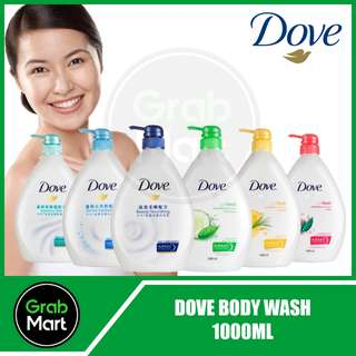 DOVE GO FRESH BODY WASH 1000ML