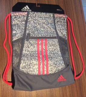 Brand new: Adidas drawstring bag