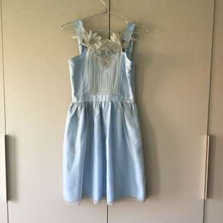 Coexist Light Blue Dress
