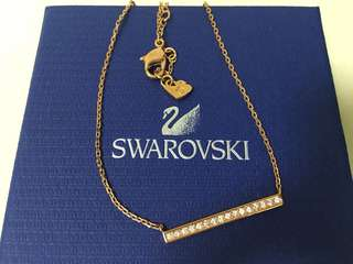 Swarovski Rose Gold Necklace