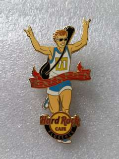 Hard Rock Cafe Pins ~ FLORENCE HOT 2013 MARATHON RUNNER PIN!