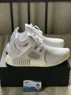 BNDS NMD XR1 TRIPLE WHITE WITH OG BOX