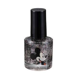 Japan Disneystore Disney Store Mickey Mouse Glitter Black Charming Nail Color