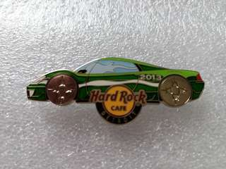 Hard Rock Cafe Pins ~ DETRIOT HOT 2013 ANNUAL AUTO SHOW CAR PIN!