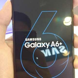 Samsung Galaxy A6+, Kredit tanpa kartu kredit