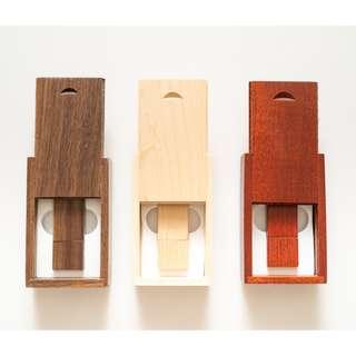 Customised wood printing usb drive