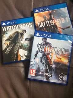 PS4 games (Bundle)