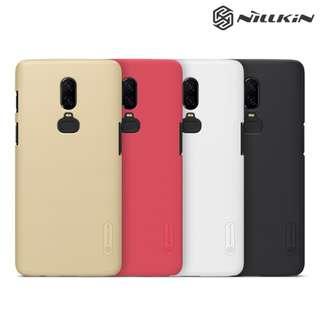 OnePlus 6 NILLKIN 磨砂護盾 送高清貼保護殼 手機後背硬殼Case Shell 0639A