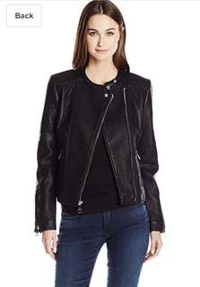 GUESS LEATHER JACKET ORIGINAL JAKET KULIT