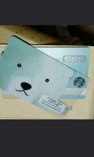 🚚 Starbucks polar bear card singapore