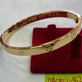 18K Saudi Gold Cartier Bangle