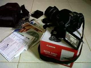 Camera Canon 600D
