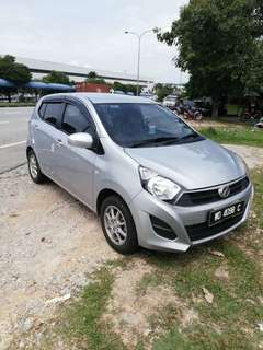 Perodua Axia (A) 1.0 for Rent Daily Weekly