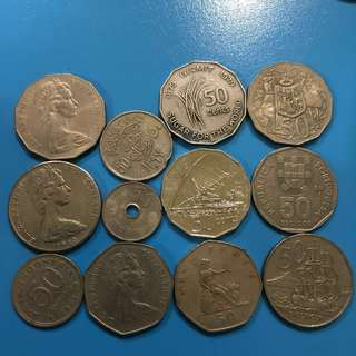 International Vintage Coins