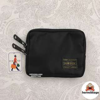 [FREE MAIL, CHEAPEST] Porter Small Wallet/ Coin Pouch - black