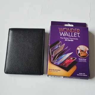 Wonder Wallet - Isi 24 kartu - Hitam