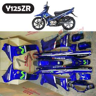 Y125ZR MOVISTAR COVER SET with STICKERS (HLD)