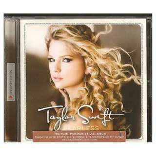 Taylor Swift ‎– Fearless CD (Singapore Edition)
