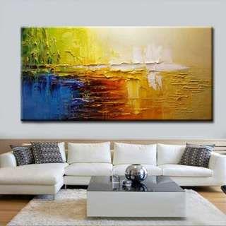🚚 Abstract Art Oil Painting 100cm x 200cm