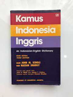 INDONESIAN ENGLISH dictionary