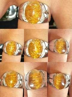 🚚 鈦晶戒 銀戒 滿絲 黃金鈦 結緣價 活圍 難男女都適合