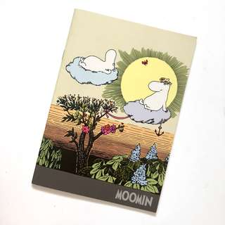 Moomin notebook