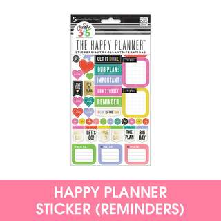 🚚 Happy Planner Everyday Reminders Sticker Pack
