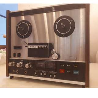 TEAC 2300S - STEREO REEL-TO-REEL TAPE DECK