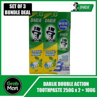 DARLIE DOUBLE ACTION 250G X 2 + 100G