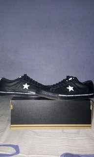 Converse One Star Pinstripe Leather