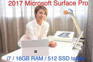 Microsoft Surface Pro i7 / 16GB RAM / 512 SSD