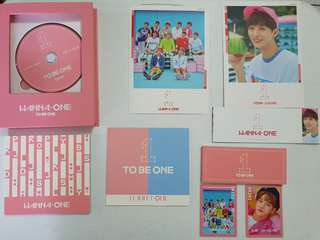 [ONHAND] Wanna One To Be One - Pink Version