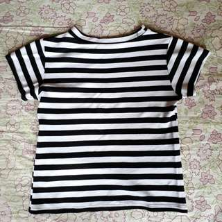 B&W Stripes top