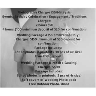 BUDGET PHOTOGRAPHY SERVICE