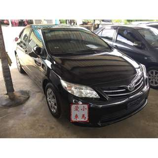 2013 Toyota Altis 1.8 黑 FB收尋:小馬愛車