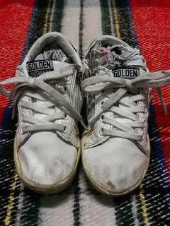 Golden Sneakers White