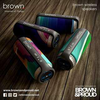 Brown amd Proud Bluetooth Speaker