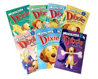 Dixie I Can Read Set of 7