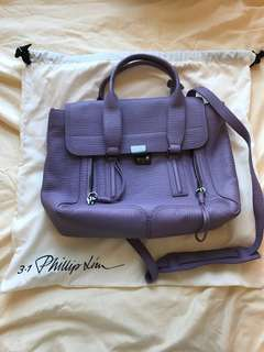 3.1 Phillip Lim Pashli Medium Satchel (Colour:Violet)