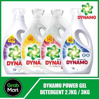 DYNAMO POWER GEL DETERGENT 2.7L / 3L