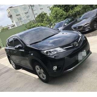 2013年RAV4黑色EHI版跑11萬        大桃園優質二手中古車買賣