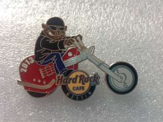 Hard Rock Cafe Pins - DESTIN HOT & RARE 2013 HOG RALLY EVENT PIN!
