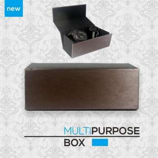 BOX MULTI PURPOSE MULTI FUNGSI KOTAK JAM TANGAN/KACAMATA (