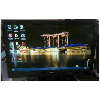 ~~~ WoRKinG ConD LG LED TV 32 ins No REMoTe OnLy $98 ~~~
