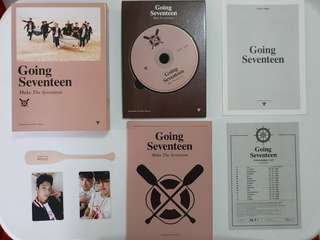 [ONHAND] Going Seventeen Version 3: Make The Seventeen