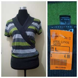 WA773 Byer California Blouse (w/ Thift Store Tag) see pics for Measurements