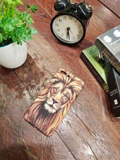 Glow in the dark lion jelly case for Iphone 7 plus