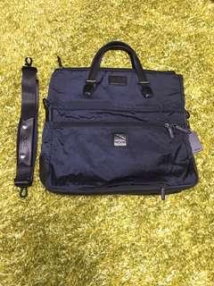TUMI 深寶藍色 時尚手輓 側背 斜背包 Dark blue tote / cross-body bag