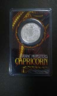 CAPRICORN Pure silver coin