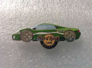 Hard Rock Cafe Pins - DETROIT HOT 2013 ANNUAL AUTO SHOW CAR PIN!